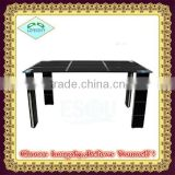 high quality modern Luxury Glass Dining Table