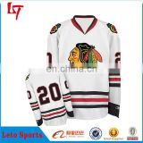 custom wholesale chicago blackhawk jerseys ice hockey jersey