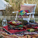 Patchwork Kantha Cushion Quilted Kantha Cushion Pillow Covers