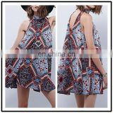 2016 New Style Fashion Chiffon Print Elegant Women Indian Dress Party Women 2015 NT6776