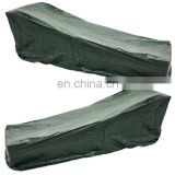 Green waterproof outdoor Garden furniture plastic Sun Lounger Cover