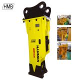 Excavators Silenced Type HMB1400 Hydraulic Hammer Earthmoving Breaker