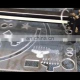 Laser marble cutting wood art Co2 machine for plywood glass Pvc
