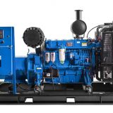 Hot Sale 300KW 330KW  Power Plant Mobile 408hp Derv Genset