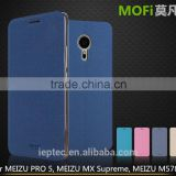 MOFi Case Celular Flip Leather Housing for Original Meizu PRO 5, Mobile Handset Coque Back Cover for Meizu Pro5