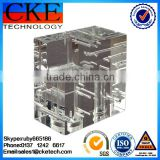 Clear Engineering Plastic CNC Milling Parts &Lathe Parts