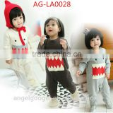 korean style infant rompers baby rompers organic cotton AG-LA0028