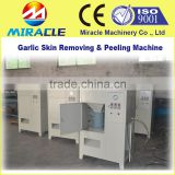 Garlic peeling machine to remove the fresh garlic skin peeler from garlic process machines