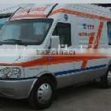 supply different ranges of mini bus for special purpose use for ambulance vehicle
