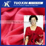 50D polyester crinkle chiffon fabric