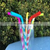 Food Grade Silicone Reusable Drinking Straws