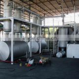 Hot selling bicycle tyre recycling to oil unit mixed sole recycling to oil machine with CE