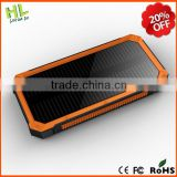 Cheap waterproof travel solar power bank 10000mAh                                                                         Quality Choice