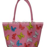 New Recycled Tote Shopping Bag-All Butterfly Printing Large Totes Shopping Bags kinds of handbags