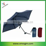 5 Folds Super Mini Umbrella with Case
