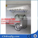 China wholesale design popsicle cooler ice cream display carts