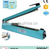 Extra Long Handy plastic bag sealer SF500AC hand held sealer With side cutter ampoule sealer