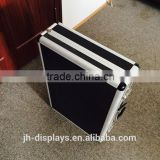 China supplier trolley case ,aluminum black luxury case