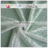 Factory made embroidered nylon tulle lace with top quality