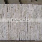 Cheap cultural slate pure white wall cladding with yellow color for exterior decoration                                                                         Quality Choice