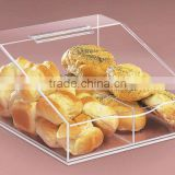 plastic clear bread container pastry storage with lid