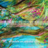 Ombre 6MM cheap silk chiffon fabric for dress chiffon printed fabric wholesale chiffon fabric