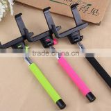 JR-886 2014 Fashion Selfie Stick With bluetooth with charge,Wireless Monopod Bluetooth Monopod For Mobile phone