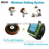 Waiter Paging System For Restaurant Table Calling System Restaurant Service Button call center system