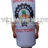 Advertising drink bottle type inflatable moving mascot costume                                                                                                         Supplier's Choice