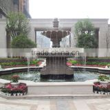 Outdoor Water Fountain Stone Waterfall