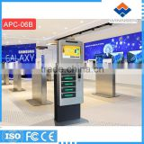 coin operated public Mobile Phone Locker with Keyless Lock APC-06B