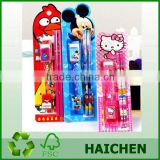 kids stationery set with eraser/pencil in blister card                                                                         Quality Choice
