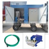 heat exchanger high pressure cleaning machine high pressure water tank cleaning equipment