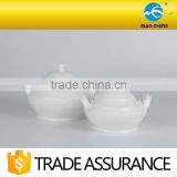domestic chafing ceramic soup pot with lid