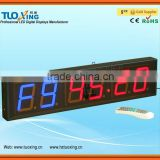 4 inch 6 digit LED programmable mechanical timer switch