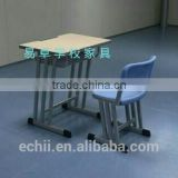 high quality school furniture / single desk and chair / new stly kids table and chair for classroom and home