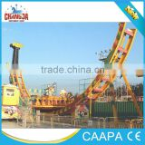 2015 thrilling fun park adult flying UFO playground equipment swing