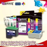 Color Saturated Best Quality Ink Cartridges For HP Canon Epson