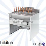 Fctory price supply fast food restaurant equipment 12 Basket gas pasta cooker/noodle cooking machine in guangzhou