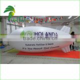 Popular White Outdoor Inflatable Blimp Airship Model / Cheap Inflatable Custom Blimp Airship For Advertising From Hongyi