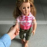 2016 American Girl Doll Factory Sells 18 Inch American Girl Doll With Long Brown Curly Wigs