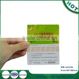 Prepaid Phone Card With 3G Data Scratch Off Recharge Calling Card Printing