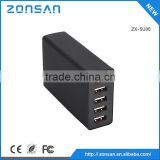 CE,ROHS,FCC Approved mobile usb 5 port battery charger , ODM/OEM quick deliver power sockets with smart IC