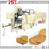 high capacity automatic french pancake machine