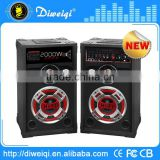 professional 2.0 hifi audio speakers system