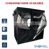 Factory Direct Supply Indoor Hydroponics Highly Reflective Fabric 600D Mylar Plant Grow Tent                                                                         Quality Choice