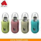 Wholesale Alibaba Products unbreakable baby borosilicate glass water bottle with silicone sleeve                                                                         Quality Choice