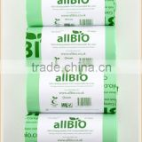 wholesale tb-17 100 bags 10 Litre 100% Biodegradable & Compostable Kitchen Caddy Liners