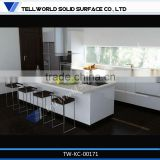 2014 hot sale modern professional beautiful luxury glossy artificial marble kitchen worktops