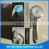 2016 Smart No Battery Needed Dia 8cm LED Lighted Handle Shower Head Rain Shower with temperature controlled